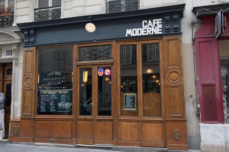 Les bons p tits frichtis de paris le caf moderne roi - Deco restaurant moderne ...