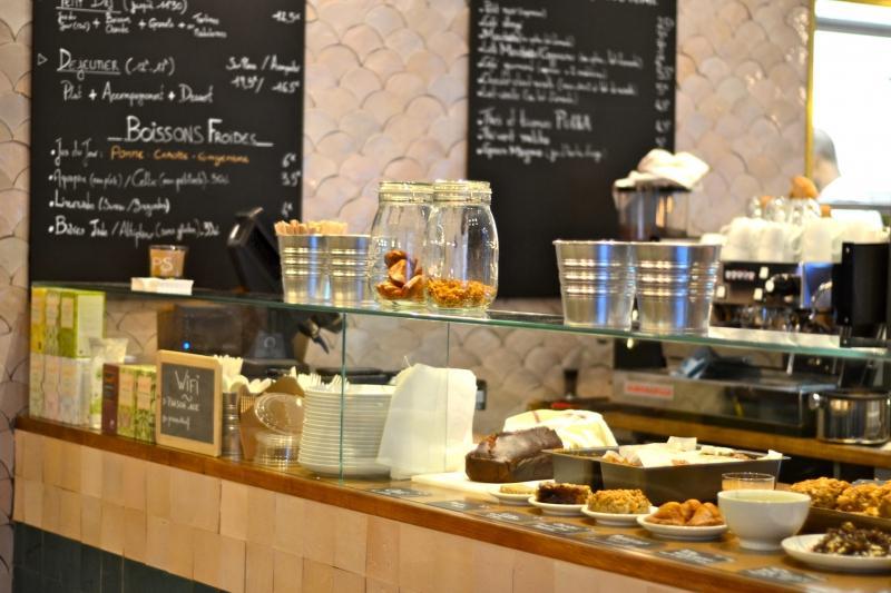День в Париже. Cafe Pinson