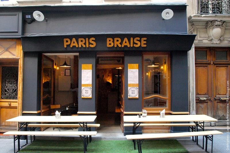 Paris braise grandes tabl es et barbecue rue tiquetonne for Articles cuisine paris