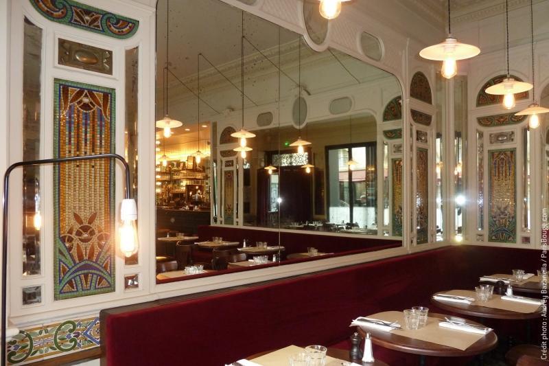 Le paris de la belle poque retrouve son lustre d 39 antan for Le miroir resto paris