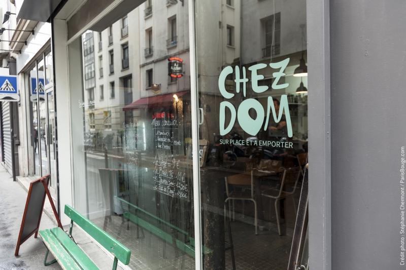 Restaurant chez dom la cuisine du monde s 39 invite dans votre assiette - Restaurant rue des vinaigriers ...