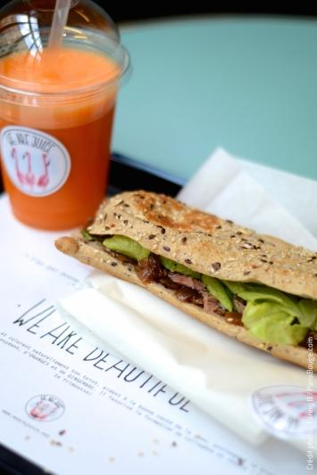 we are juice paris restaurant sandwich sentier grands boulevards