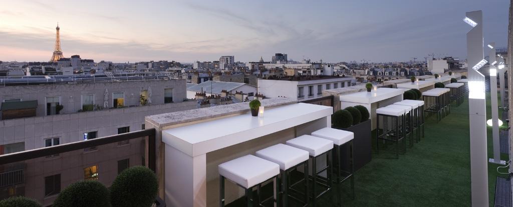 Les bars d 39 h tels s 39 exportent en terrasse for Bar exterieur paris