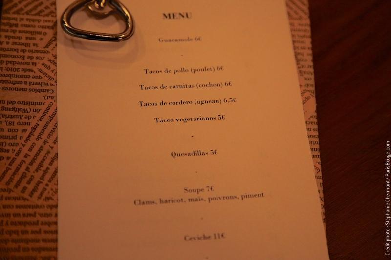 Restaurant Mexicain Luz Verde Menu Prix