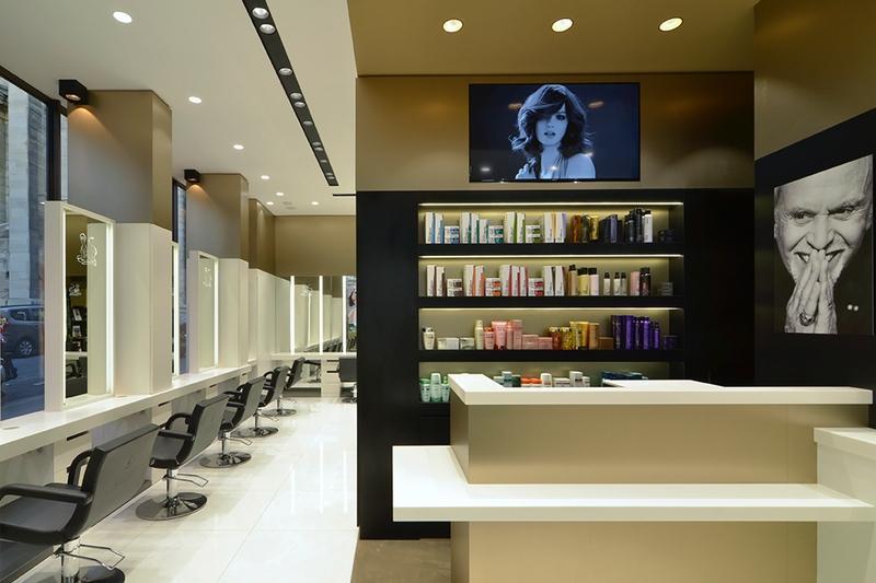 Alexandre de paris studio salon de coiffure premium aux for Miroir coiffure st augustin