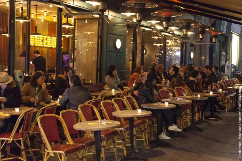 Le dunkerque le nouveau bon spot de l 39 avenue trudaine - Restaurant en terrasse paris ...